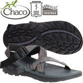 Chaco ZLM01_HD04步伐黑 男越野紓壓涼鞋-Z/Cloud標準款 綁帶涼鞋