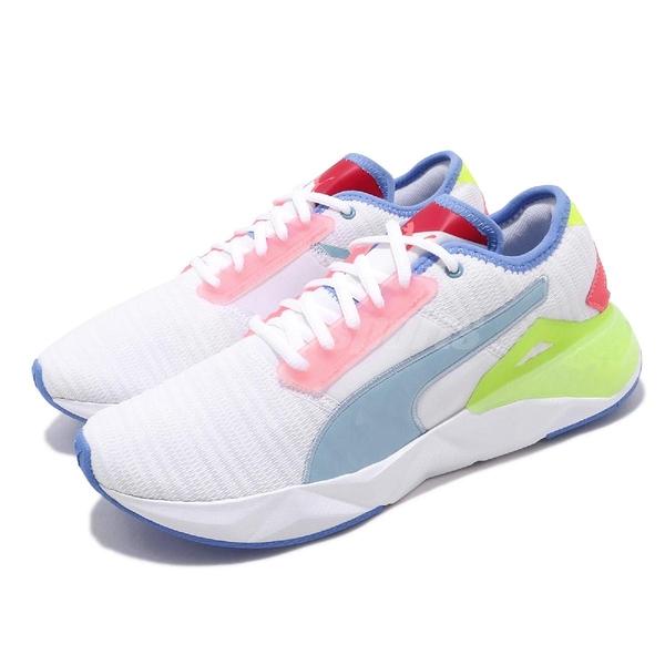 Puma 訓練鞋 Cell Plasmic 白 藍 女鞋 運動鞋 跑步 健身 【ACS】 19263702