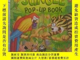 二手書博民逛書店My罕見Jungle POP UP BOOK(我的熱帶雨林)Y362593