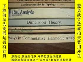 二手書博民逛書店Essays罕見in Commutative Harmonic