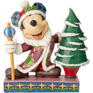 Enesco Disney 迪士尼 米奇聖尼古拉塑像_EN13833
