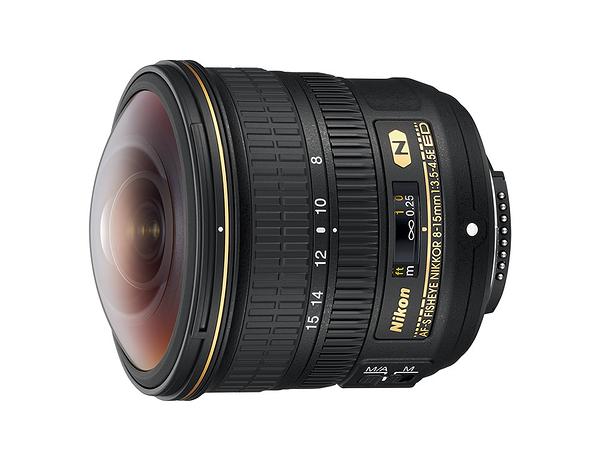 NIKON AF-S FISHEYE 8-15mm F3.5-4.5E ED 魚眼鏡頭  N 奈米鍍膜 【 公司貨】