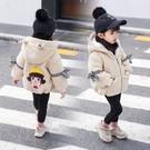 女寶寶洋氣外套免運新款1-2-3-4歲韓版秋冬季加絨加厚公主女童裝