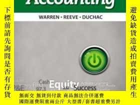 二手書博民逛書店Accounting罕見(mindtap Course List)-會計學(mindtap課程列表)Y4366