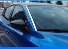 福特 FOCUS MK4 不銹鋼 前檔車窗飾條 2片 電鍍款 保護框 車窗保護條 汽車車窗電鍍條 不銹鋼