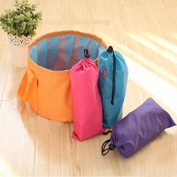 收納袋【CTP023】戶外旅行便攜折疊水袋 野餐 露營 烤肉 裝水袋