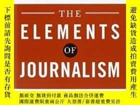 二手書博民逛書店The罕見Elements Of Journalism, Revised And Updated 3rd Edit