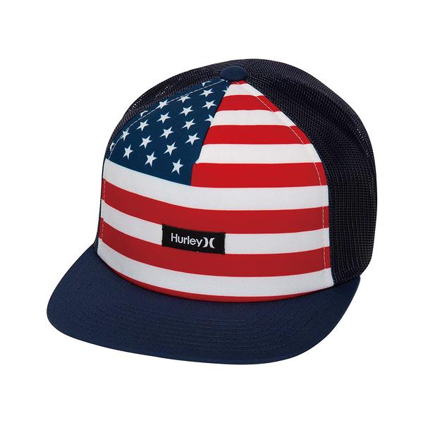 Hurley M HRLY MIXTAPE HAT BLACK/(BLACK) (FLORAL) 棒球帽
