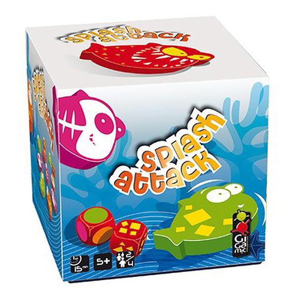 【 法國桌神 Gigamic 】反應桌遊-食人魚 Splash Attack GIG021