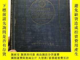 二手書博民逛書店websters罕見collegiate dictionary(Fifth Edition)1944年美國版(精裝