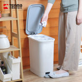 【日本天馬】dustio分類腳踏抗菌垃圾桶(深型)-20L