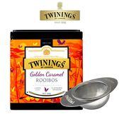 唐寧茶【Twinings】鉑金系列 琥珀焦糖博士茶100g+小憩時光濾茶器