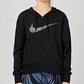 Nike AS W NK DRY GET FIT FC FZ H ES女子 黑色 連帽 長袖 外套 CQ9304-010