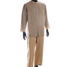 BURBERRY經典格紋全套男性居家服L(深駝色)085545-1
