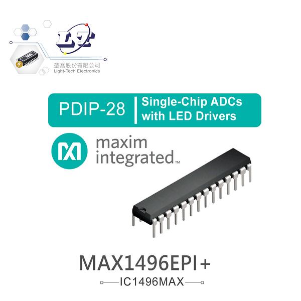 『堃喬』MAXIM MAX1496EPI+ PDIP28 Single-Chip ADCs with LED Drivers『堃邑Oget』