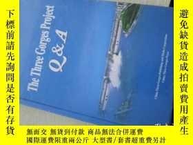 二手書博民逛書店the罕見three gorges project Q&A .Y