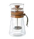 金時代書香咖啡 HARIO 自然風雙層濾壓咖啡壺 3杯用 400ml DGC-40-OV