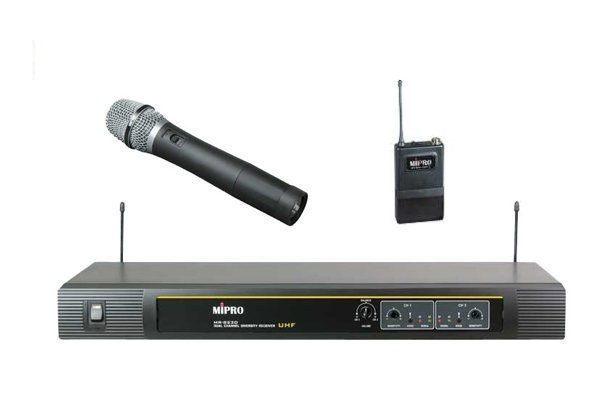 【名展音響】台北卡拉OK推薦 MIPRO MR-823D 高頻石英控制固定頻率無線麥克風