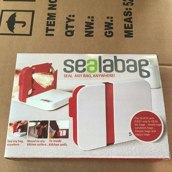 現貨-可固定家用便攜廚房小工具封口機sealabag seal any bag anywhere【快速出貨】
