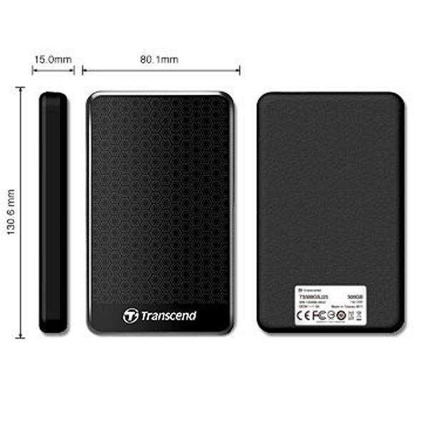 創見 Transcend 1TB USB3.1 StoreJet® 25A3 隨身硬碟 原廠公司貨 外接式硬碟 1T