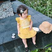 女寶寶連身裙清新刺花民族風時尚夏季新款純棉洋氣刺繡裙 森活雜貨
