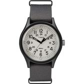 TIMEX 天美時 MK1 冷光 帆布軍錶 手錶 (TXTW2T10500) 灰/40mm