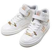 DADA SHOTCALLER 經典復古高筒休閒運動鞋-女-白金款