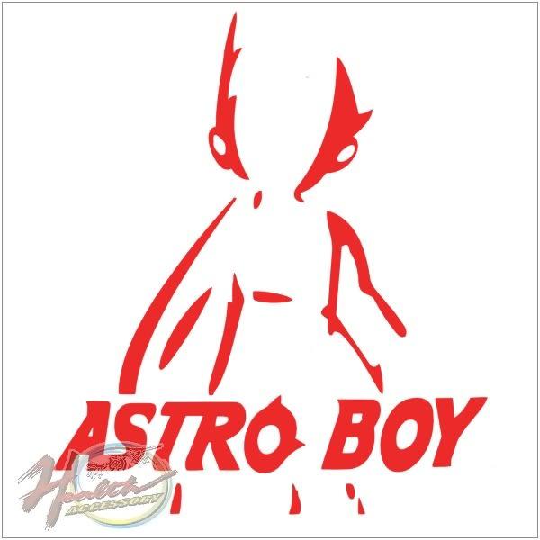 00240802-1  雕刻貼 ASTRO BOY/紅款 單入