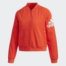 ADIDAS JKV WV WARM BOM 女裝 外套 飛行外套 休閒 防風 保暖 紅【運動世界】DT2401