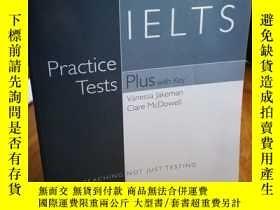 二手書博民逛書店Practice罕見Tests Plus IELTS (PTP)