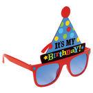 生日快樂眼鏡1入-派對帽