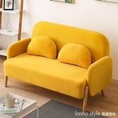 布藝沙發小戶型網紅款出租房用北歐簡約現代家用經型雙人小沙發 Lanna YTL