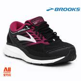 【BROOKS】女款健走/穩定型慢跑鞋 Addiction13系列 - 黑莓果 (532E070)【全方位運動戶外館】