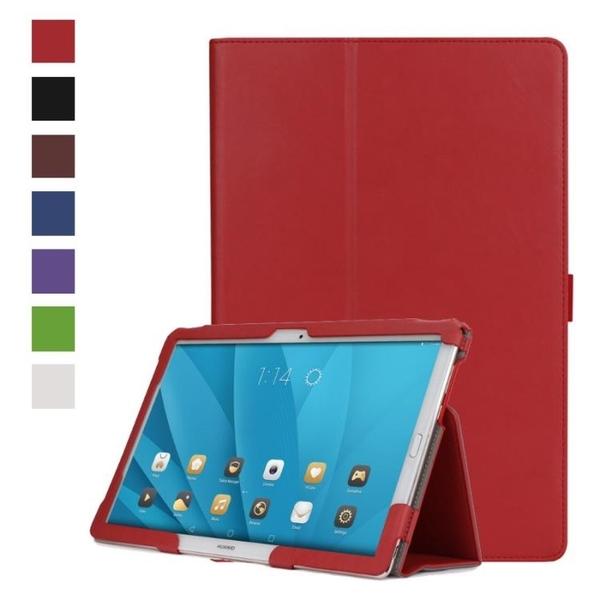 HUAWEI MediaPad T3 T5 8.0 9.6 10 10.1 皮革保護套全皮包覆皮套翻蓋保護套支架平板套