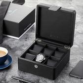 唯蘭朵收納盒木制首飾手串收集整理展示木盒簡約錶箱手錶收藏【店慶8折促銷】