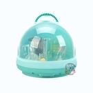 兒童奶瓶收納箱寶寶用品干燥帶蓋防塵奶粉盒餐具瀝水晾干架·liv