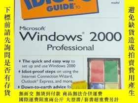 二手書博民逛書店THE罕見COMPLETE IDIOT S GUIDE TO W