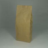 東尚咖啡袋FK250+V 250g牛皮紙袋夾邊合掌封袋=50個/盒(有氣閥)