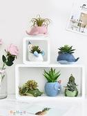小盆栽擺件綠植室內仿真植物裝飾多肉花仙人掌北歐ins風假花飾品 阿宅