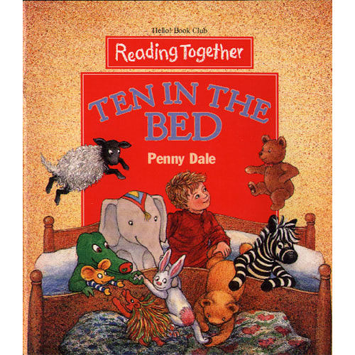 【Reading Together】Ten in the Bed(1Book + 1CD)