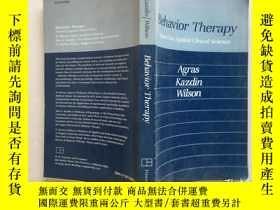 二手書博民逛書店Behavior罕見Therapy Toward an Appl