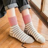 款襪子女中筒襪堆堆襪韓國學院風純棉全棉羊毛襪冬季加厚  美斯特精品