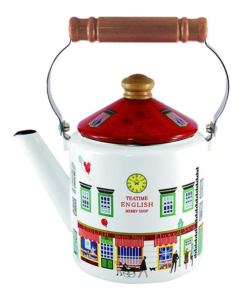 Fuji Horo【日本代購】富士霍羅 珐瑯壺 2L凱特爾店鋪MM-2.0K