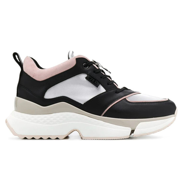 Karl Lagerfeld 卡爾 老佛爺 女鞋 AVENTUR 流線IKONIK老爹鞋-黑粉