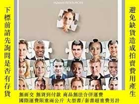 二手書博民逛書店HR罕見4 DeNisi human resources (wi
