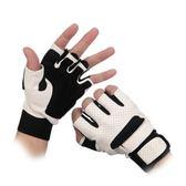 半指手套-戶外運動透氣防滑健身男女手套(單雙)72g19[巴黎精品]