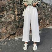 寬褲 2018秋季新款韓版抽繩高腰闊腿褲 SDN-1859