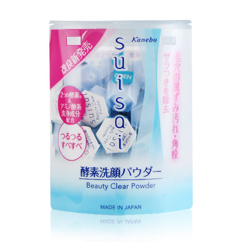 Kanebo佳麗寶 suisai 酵素洗顏粉(藍) 0.4g x 32顆入【Bg shop】