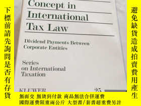 二手書博民逛書店The罕見Dividend Concept in Interna