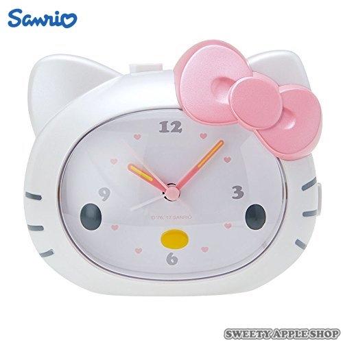 日本限定 HELLO KITTY 立體造型 時鐘 / 鬧鐘
